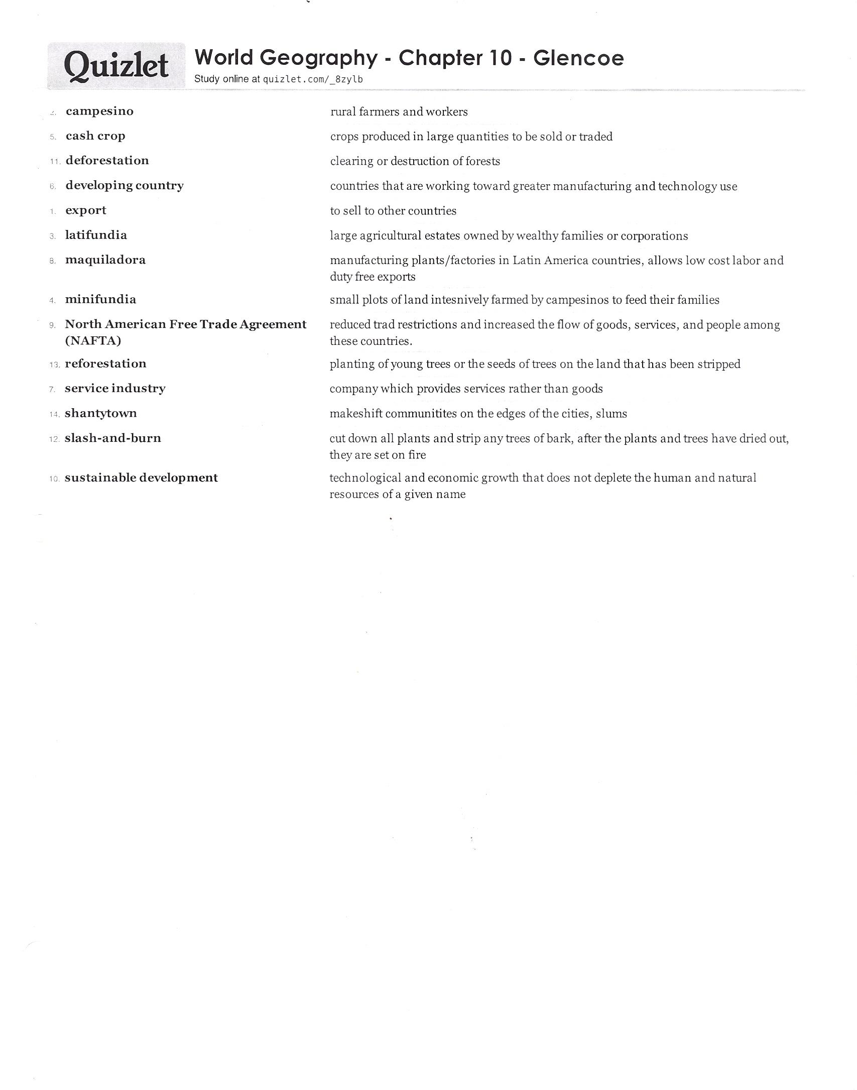 world history world geography rh acedwardslobos86 com Vocabulary Practice Academic Vocabulary