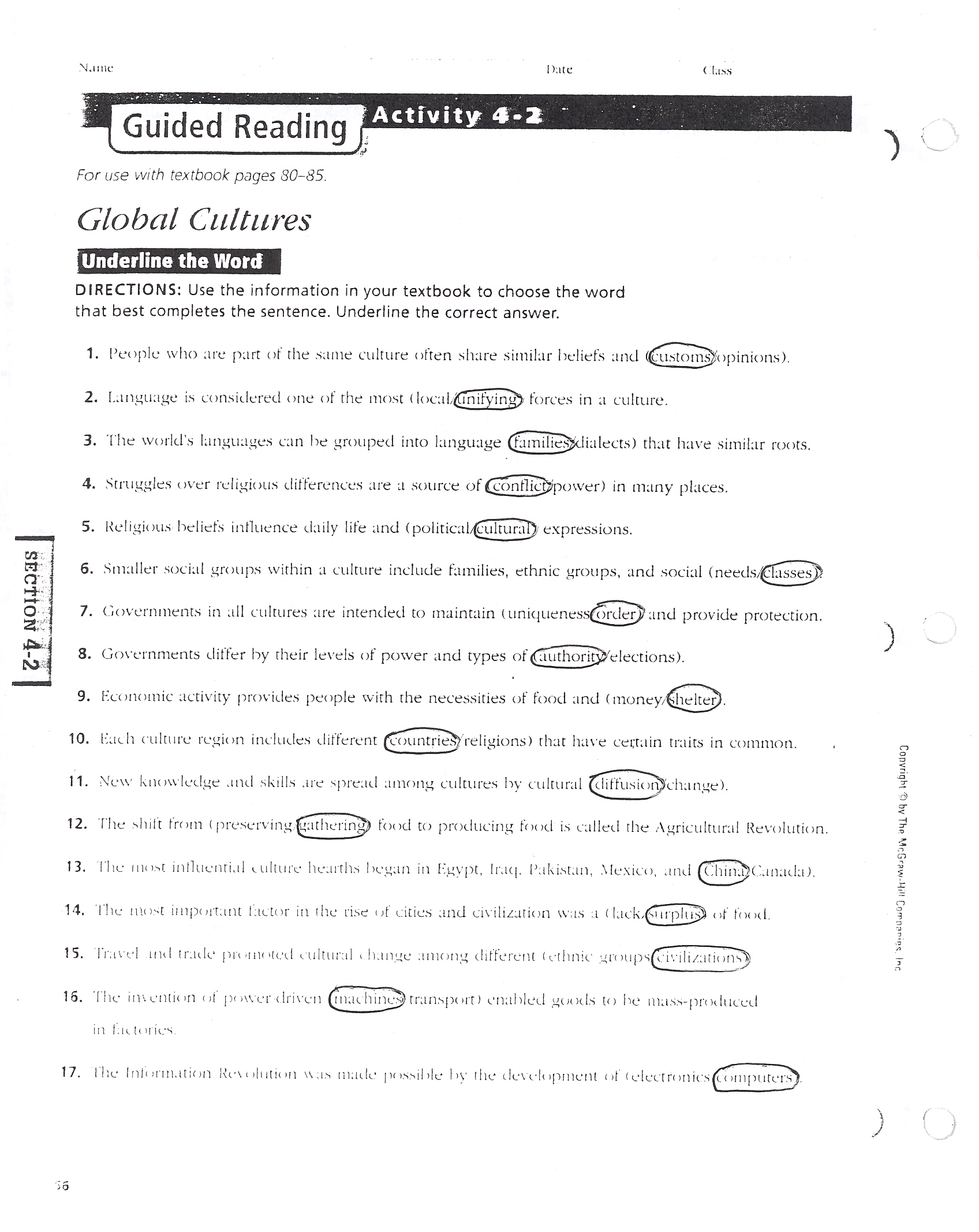 world history world geography rh acedwardslobos86 com School Answer Keys Answer Key Sheet